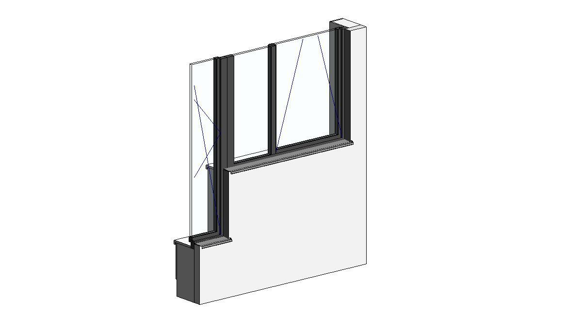 Revit okna